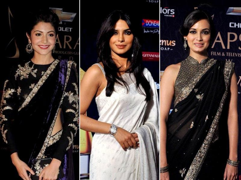 From Priyanka Chopra, Kareena Kapoor and Anushka Sharma to veterans like Sridevi, Rajesh Khanna and even Vyajanthimala were present at the prestigious Apsara awards. Take a look.