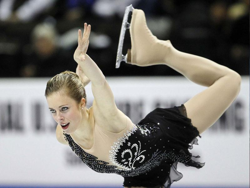 Ashley Wagner skates during her winning performance in the ladies' free skate finals during the US Figure Skating Championships in San Jose, California. Reuters