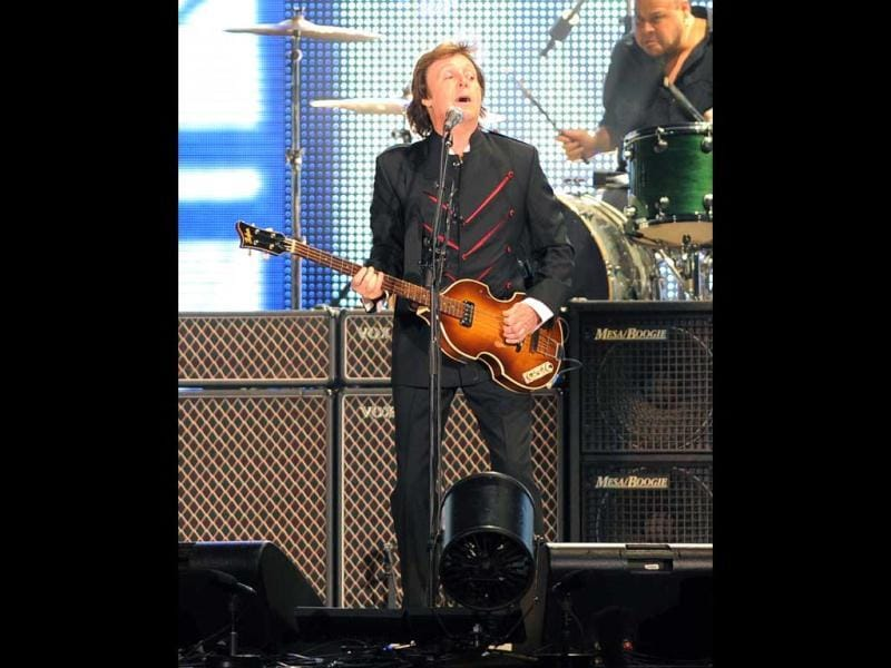 English musician-songwriter Paul McCartney is also expected to rock at the big night.