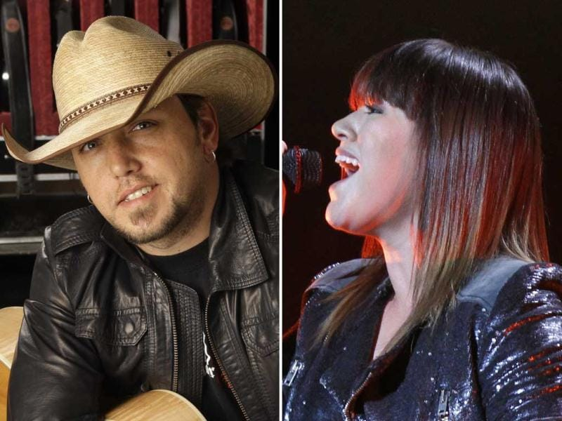 American country music singer Jason Aldean and American singer Kelly Clarkson will be performing at the 54th annual Grammy Awards.