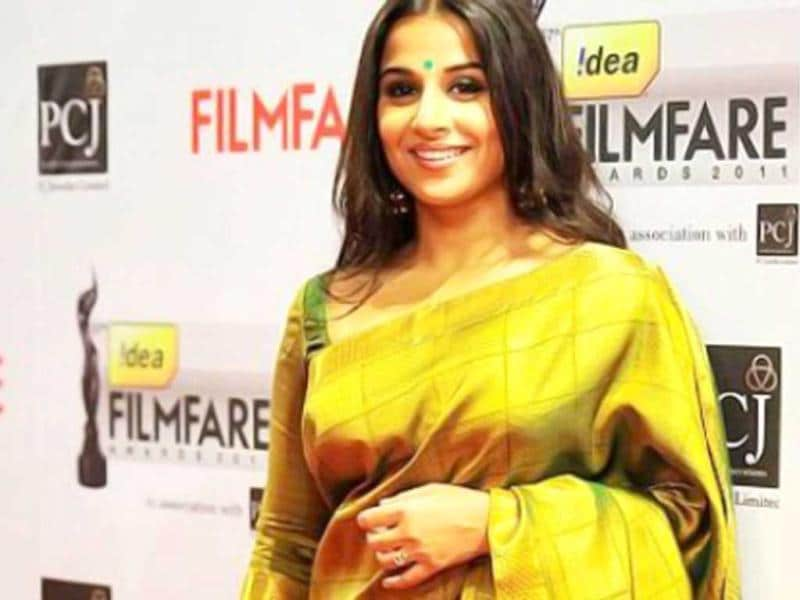 Vidya Balan bagged the best actress award for The Dirty Picture.