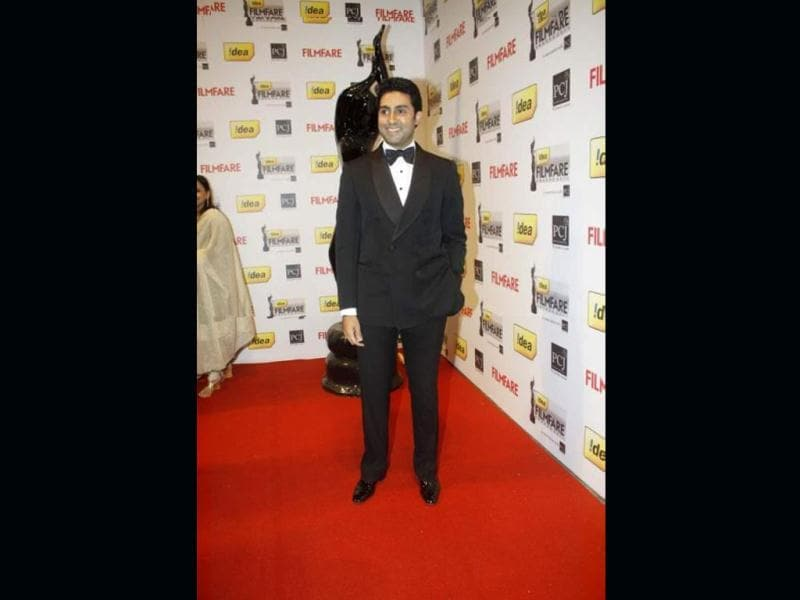 Abhishek Bachchan also walked the red carpet.