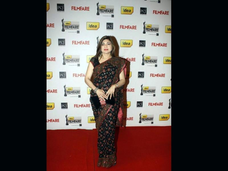 Singer Alka Yagnik was also spotted at the do.