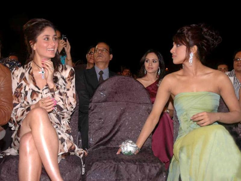 Priyanka Chopra and Kareena Kapoor's rivalry has been no secret as the two have publicly taken digs at each other on Karan Johar's chat show. However, the two have been spotted hugging each other in front of the cameras ever since.