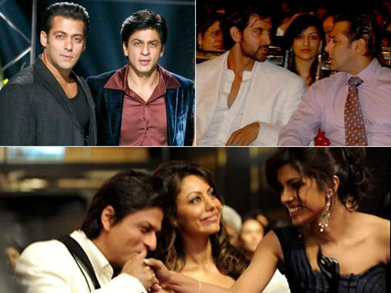 Whether it's SRK slapping Shirish Kunder, or Gauri Khan giving Priyanka Chopra the cold shoulder or even Salman Khan and Hrithik Roshan taking digs at each other, seems like there are no permanent friendships in Bollywood. While SRK-Shirish patch up, here's a look at other ugly fights.