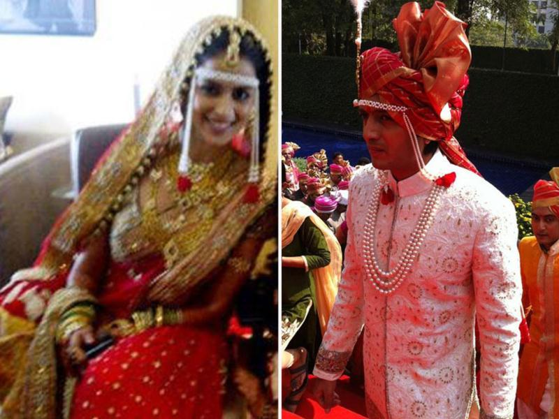 Riteish Deshmukh and Genelia D'Souza get set for the big day.