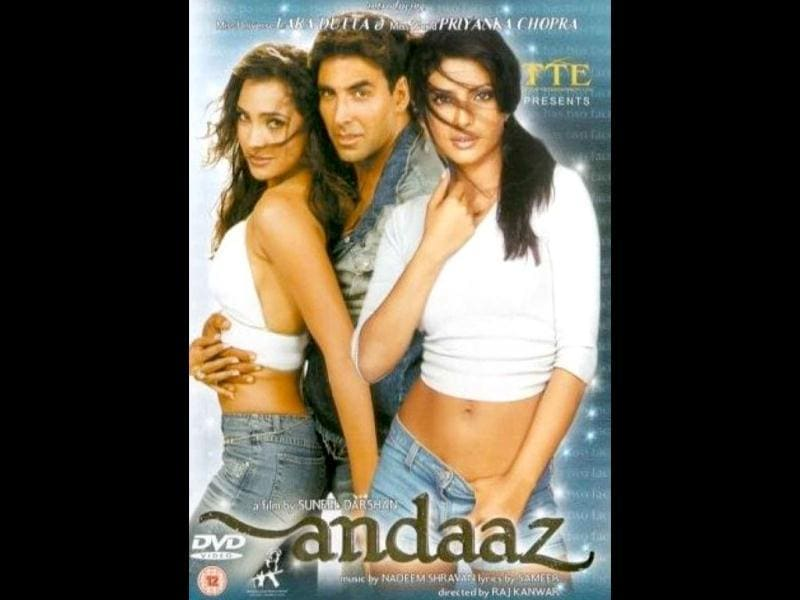Kanwar's Andaaz was the debut vehicle of two beauty queens- Lara Dutta and Priyanka Chopra.
