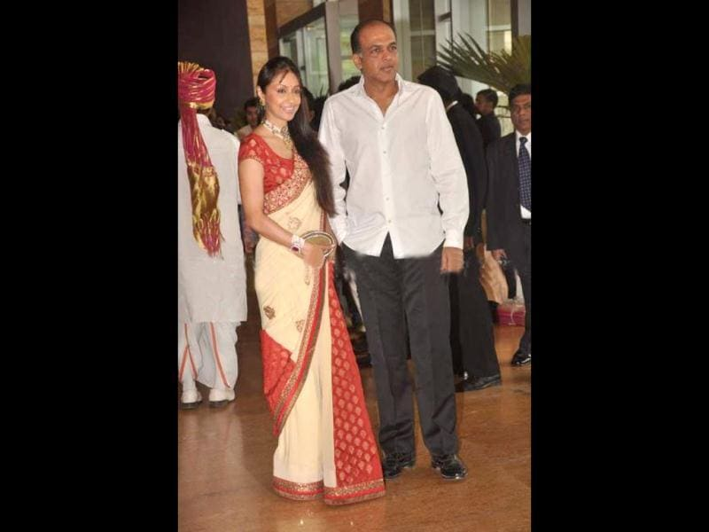 Ashutosh Gowariker was also present at the wedding ceremony.