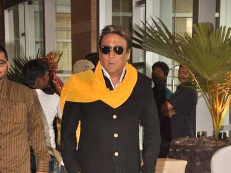 Jackie Shroff was also spotted at the wedding.
