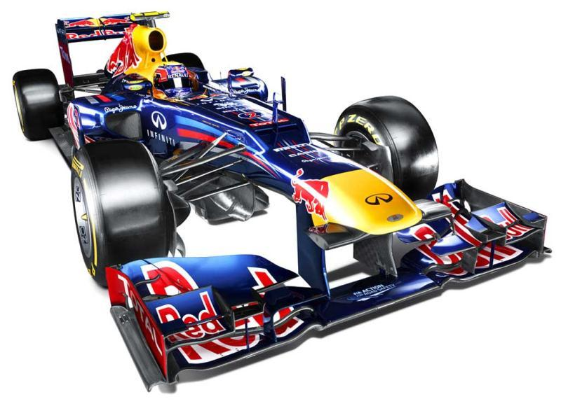 An illustration of the new Renault-powered RB8. Photo courtesy: Red Bull