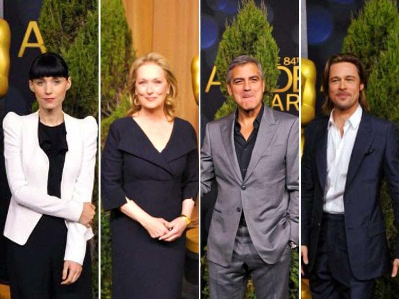 With less than three weeks remaining for the grandest night of Hollywood, George Clooney, Brad Pitt, Meryl Streep, Rooney Mara and many more Oscar hopefuls gather together at the Beverly Hilton Hotel for the 84th Academy Awards Nominations Luncheon.