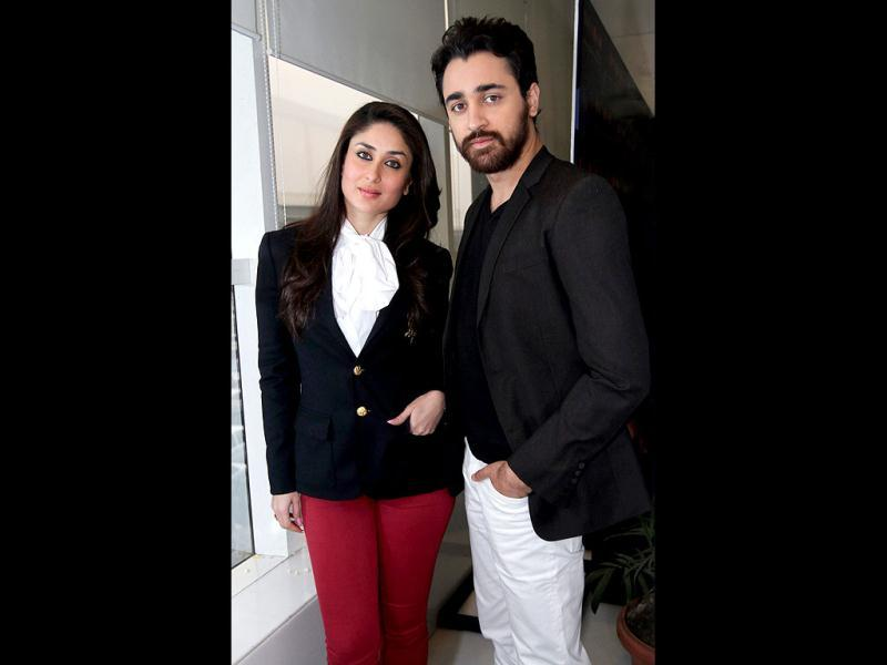 Actors Kareena Kapoor and Imran Khan were recently at the capital to promote their upcoming rom-com Ek Main Aur Ekk Tu.