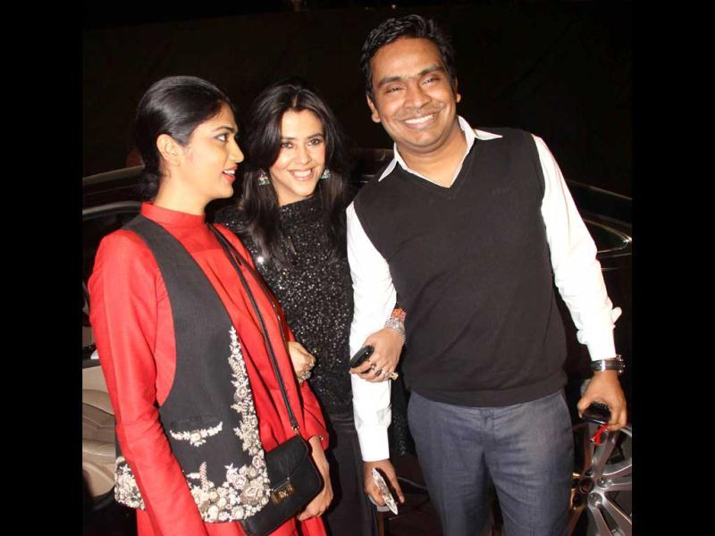 Soap queen turned director Ekta Kapoor at the Stardust awards.