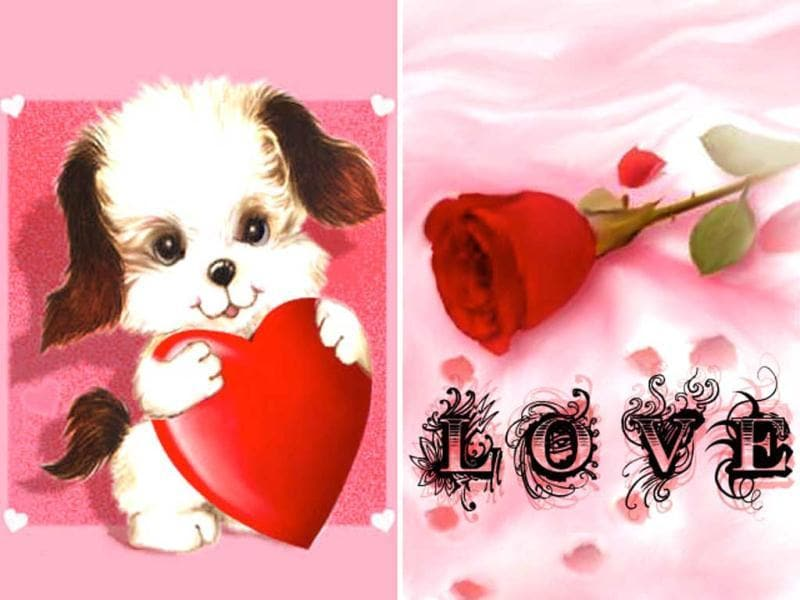 Free Romance Wallpapers: Get your iPhone or iPod touch all decked out with these 30 love-themed wallpapers. Hearts, puppies, teddy bears, and flowers - what more could you ask?
