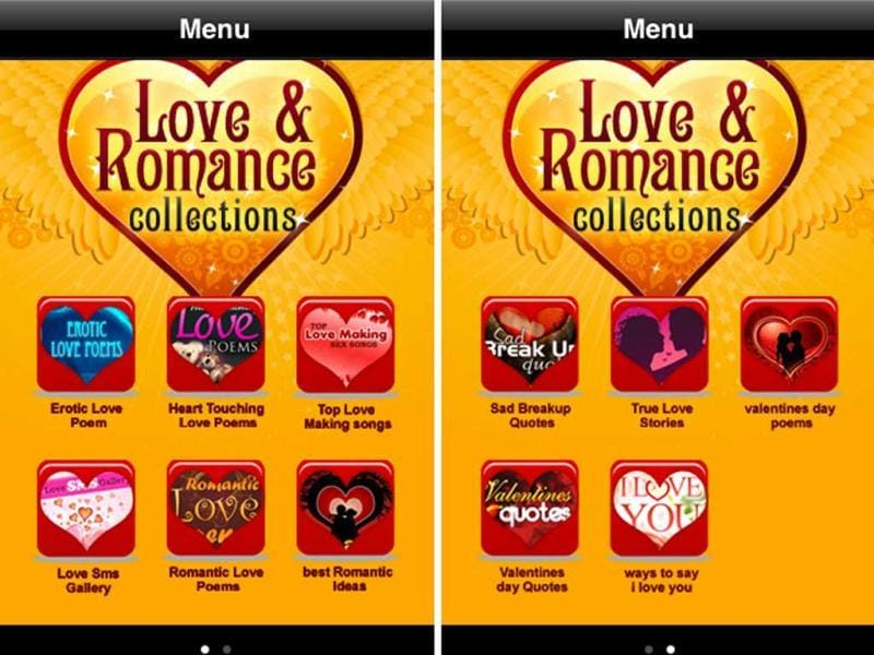 Love & Romance Collection: Whether you're trying to write something nice in a card, or whisper sweet nothings into his/her ear, find inspiration in this collections of quotes and poetry.