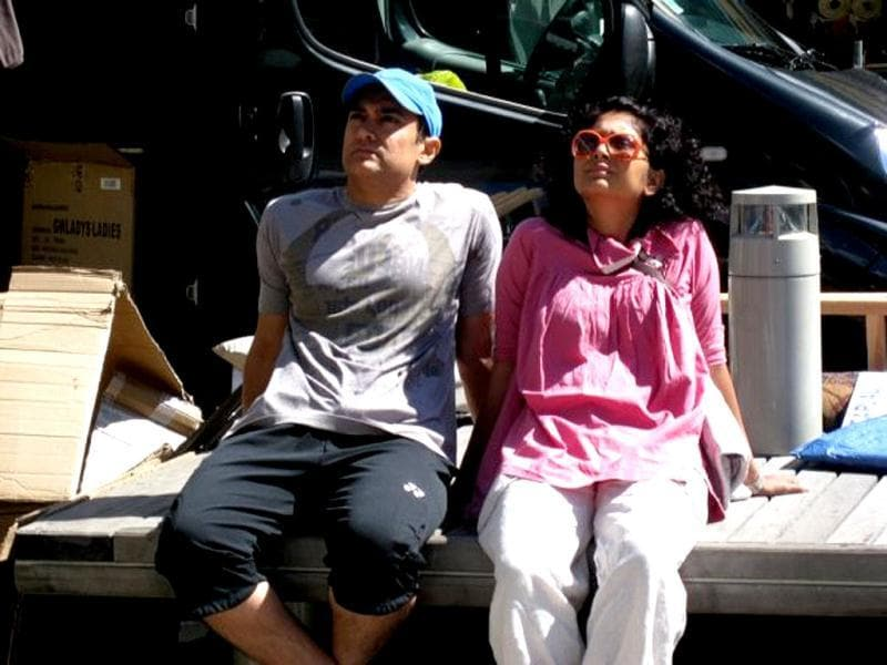 Aamir Khan and his wife Kiran Rao were spotted holidaying in Chamonix