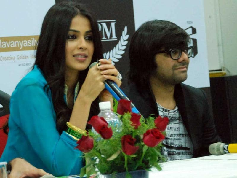 Genelia D'Souza speaks about her movie. (HT Photo/Sarvesh)