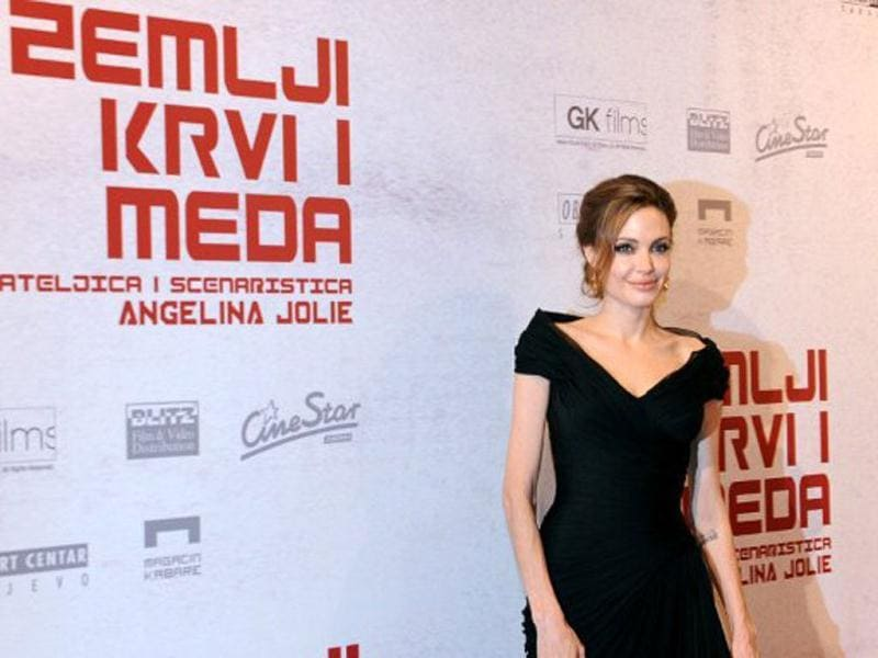 Angelina's film is based on the Bosnian war.
