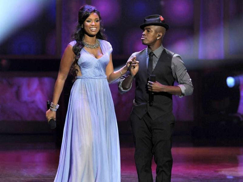 Jennifer Hudson, left, and Ne-Yo perform at the 43rd NAACP Image Awards on in Los Angeles. AP/Chris Pizzello
