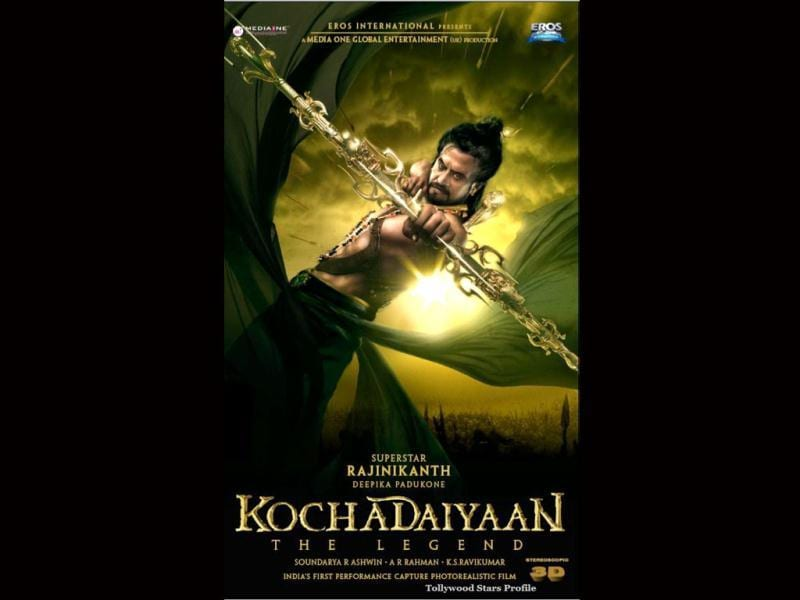 Kochadaiyaan is expected to be shot with motion capture in 3D.