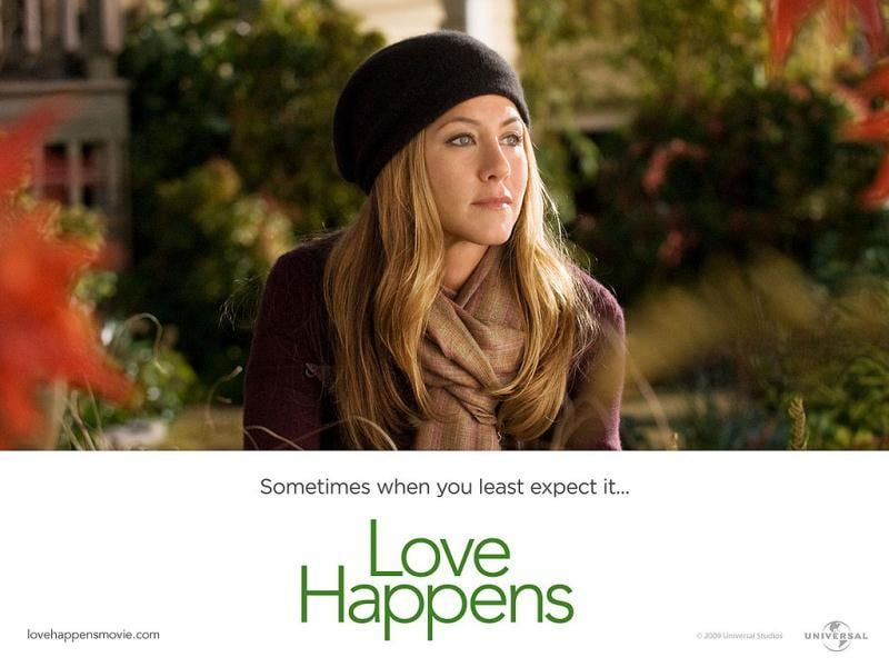 Aniston also starred alongside Aaron Eckhart in Love Happens.