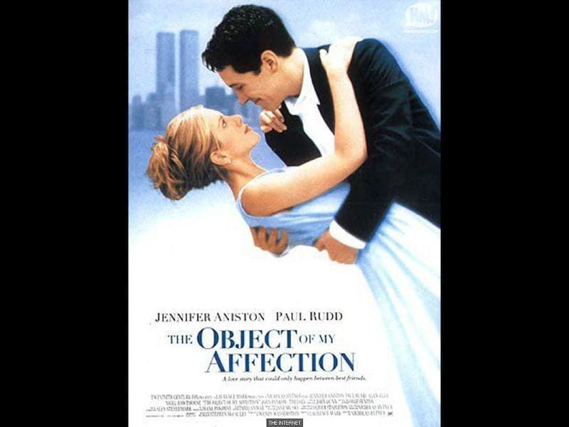 During her hiatus from Friends, Aniston pursued a budding film career in films like The Object Of My Affection - the first of her roles with Paul Rudd.