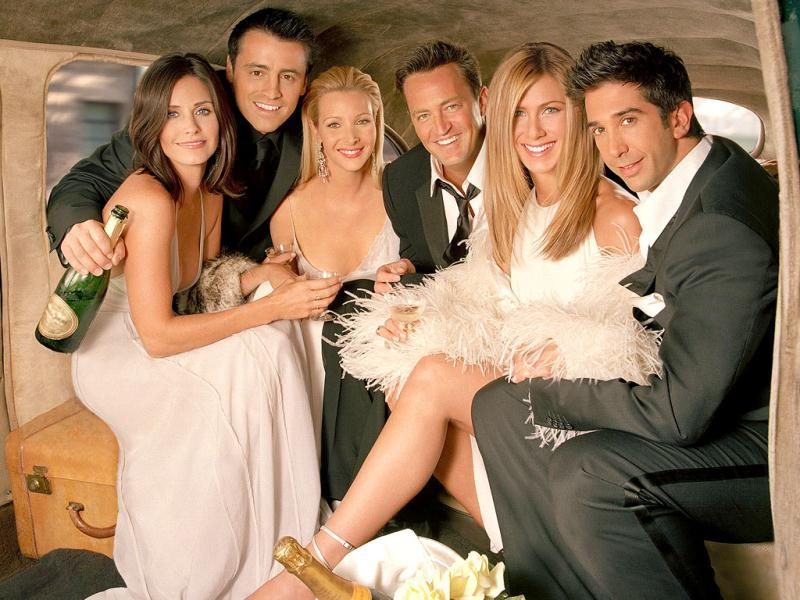The classic television comedy Friends.