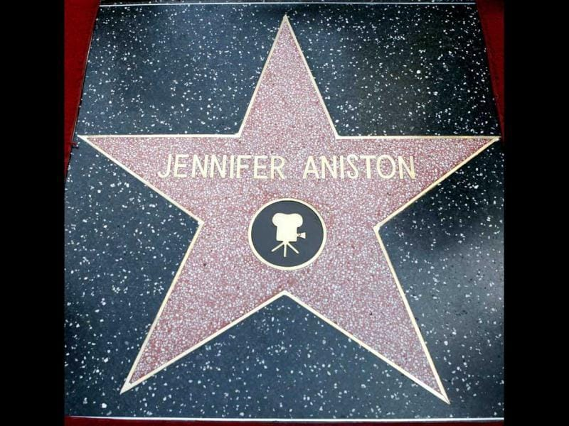 The star of actor Jennifer Aniston is pictured.