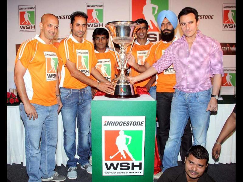 Saif along with the team.
