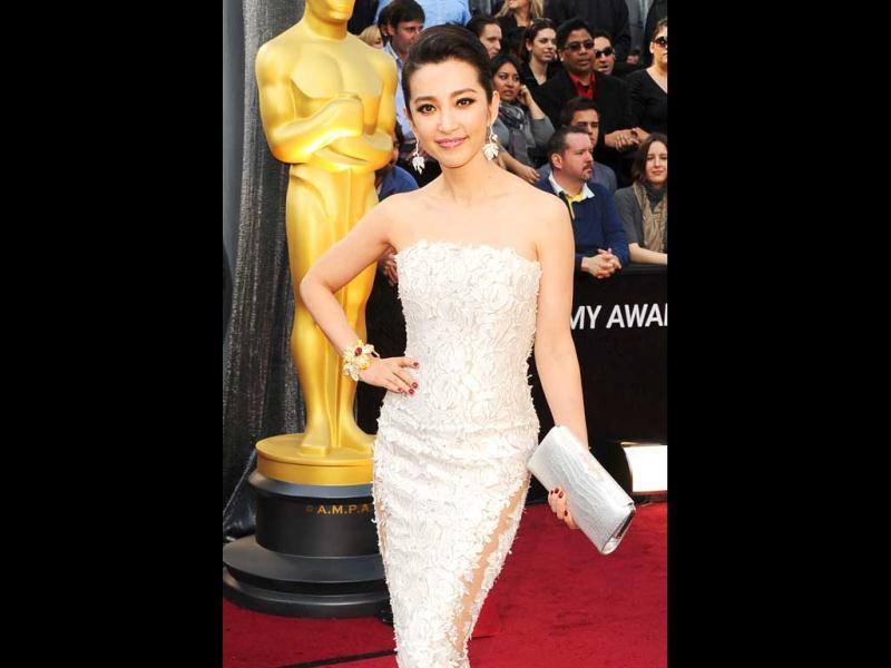 Actor Bingbing Li arrives at the 84th Annual Academy Awards held at the Hollywood Highland Center. (AFP)