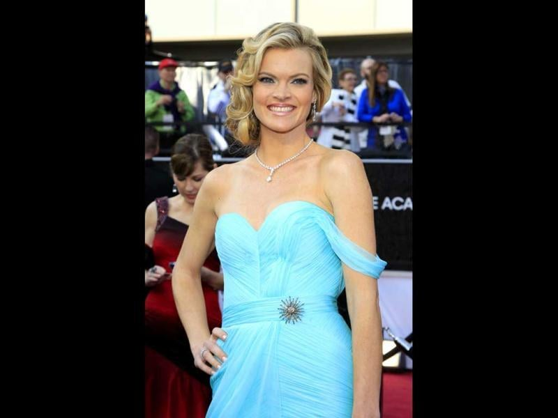 Actress Missi Pyle from the film The Artist arrives at the 84th Academy Awards in Hollywood.