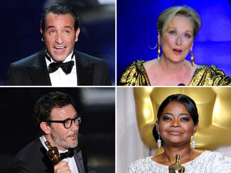 Meryl Streep won her third acting Oscar, silent movie The Artist won the Academy Award for Best Picture. Jean Dujardin won the best actor award. Want to know more? Presenting the winners of 84th Acedemy Awards.