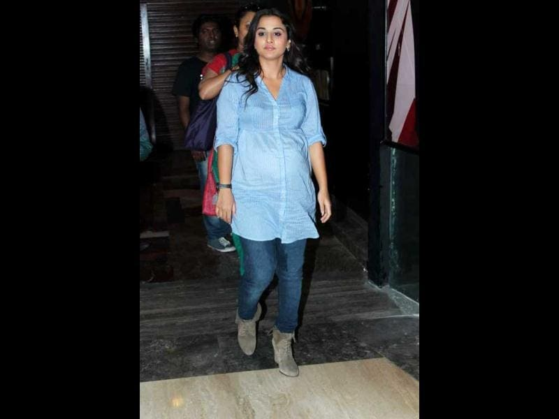 Director Sujoy Ghosh rubbished reports that Vidya acted 'pricey' before taking up the project of a pregnant woman.