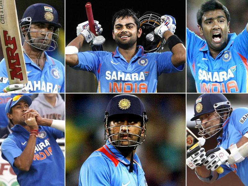 BCCI announced the squad for Asia Cup. Virender Sehwag, Zaheer Khan were 'rested' while Sachin Tendulkar was included.