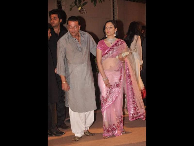 When Sanjay Dutt maried Manyata in 2008, his family were reportedly not happy with the union. His sister Priya Dutt and others in the family allegedly found Manyata the wrong person for Sanjay.