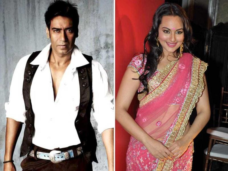 Ajay Devgn is expected to star opposite Sonakshi Sinha in rom-com Son Of Sardar (SOS). It's directed by Ashwani Dhir and produced by Ajay Devgn's production house