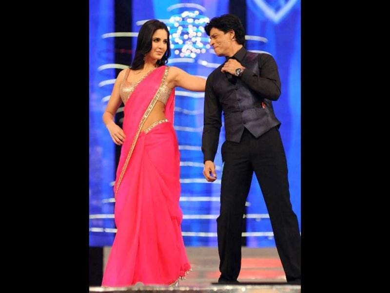 SRK will star opposite Katrina Kaif in Yash Chopra's romantic drama. This film is awaited because of its fresh pairing and Chopra's return to direction after seven years.