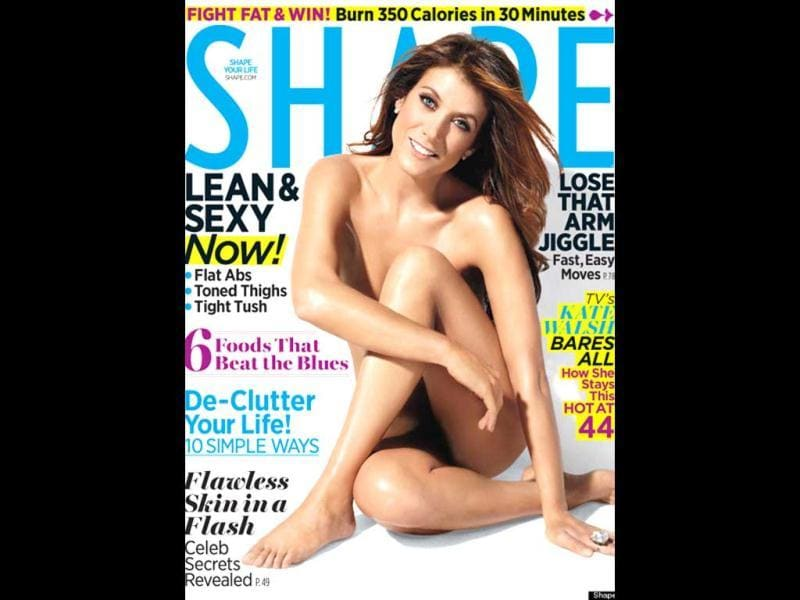 Grey's Anatomy actor Kate Walsh has posed nude for a new photoshoot in her forties. The actor says she felt confident and sexy by going nude for the magazine.