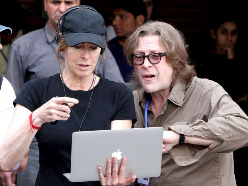 The Hurt Locker-fame Hollywood director Kathryn Bigelow shoots in Chandigarh for her much-anticipated film based on Al-Qaeda chief, Osama Bin Laden's killing.