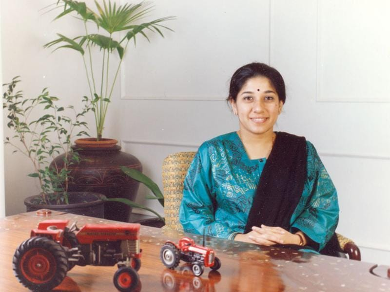 Tractors & Farm Equipment chairperson Mallika Srinivasa also features on the Forbesinaugural list of