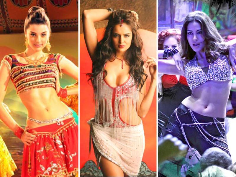 Bollywood's obsession with foreign maal is back as three bold beauties Nathalia Kaur, Giselli Monteiro and Malika Haydon create a buzz with their item numbers. Here's a look at other such ladies, who wowed us with their raunchy numbers.