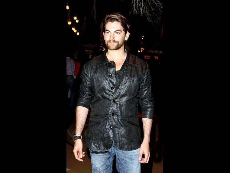 Actor Neil Nitin Mukesh keeps it simple. (AFP Photo)