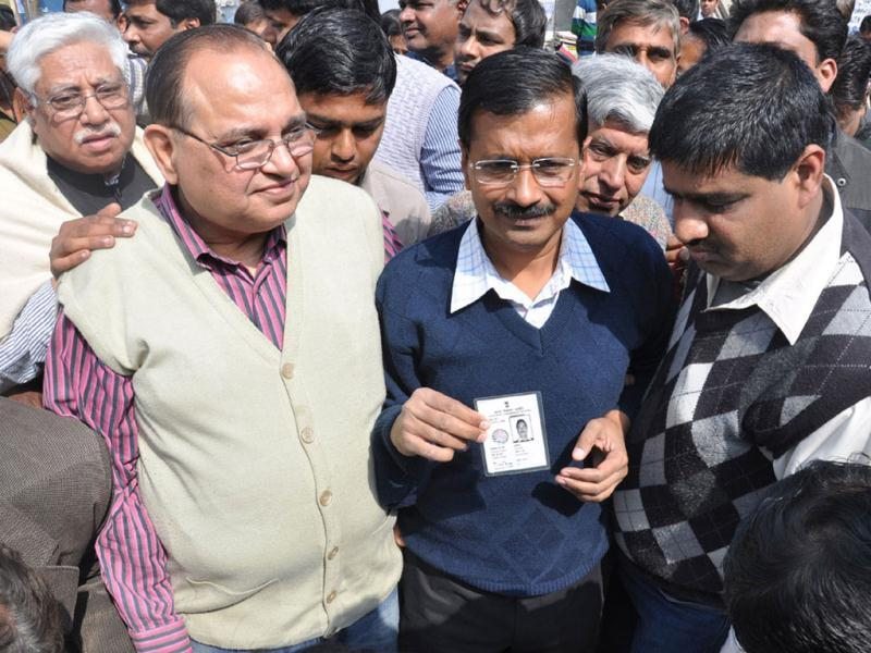 Team Anna member Arvind Kejriwal drew a lot of flak as he decided to leave for Goa without casting his vote in the UP polls, only to come back later and find he wasn't on the voters' list.