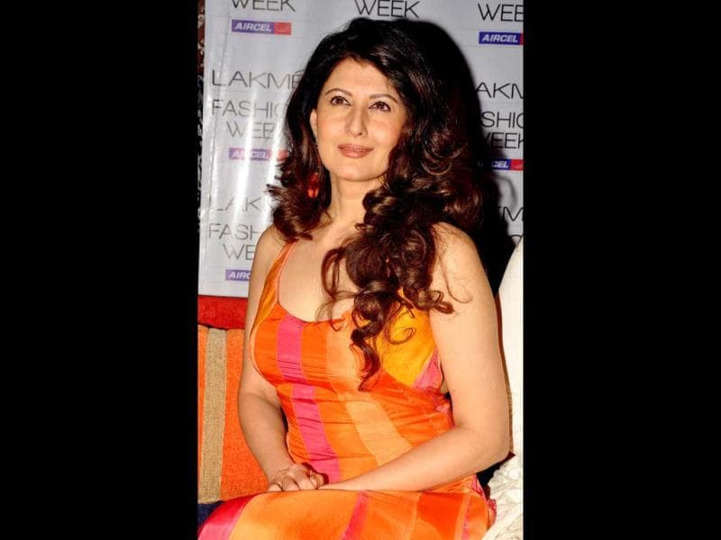 Actor Sangeeta Bijlani attended the third day of Lakmé Fashion Week (LFW) summer resort 2012 in Mumbai on March 4, 2012.