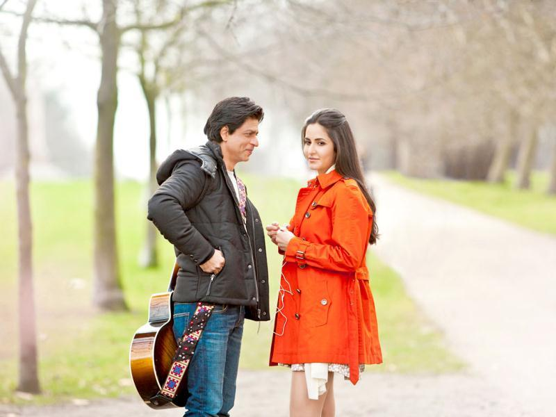 Shah Rukh Khan and Katrina Kaif look good together in a still from Yash Chopra's next.