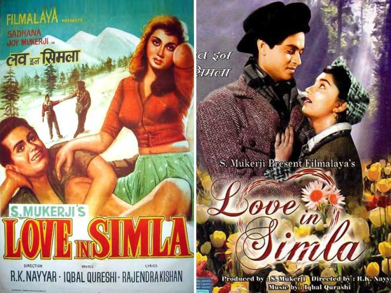 Love In Simla is a 1960 Indian Hindi film, produced by Sashadhar Mukherjee and his Filmalaya production house. Directed by R.K. Nayyar, the film had the producer's son, Joy Mukherjee, in the lead.