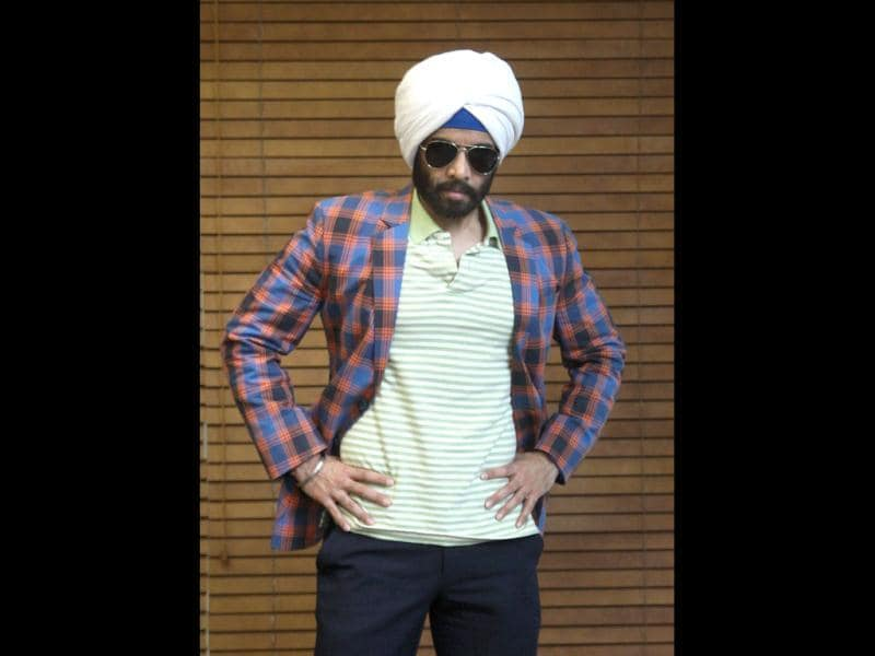 "Tusshar however sounded anxious about his turban-clad character. ""I was more stressed than excited, as I did not want to hurt anyone's sentiments. Therefore, I tried to be as authentic as I could,"" said the 35-year-old, who says that actor Sunny Deol is his favourite onscreen Sikh. (Photo: Arijit Sen)"