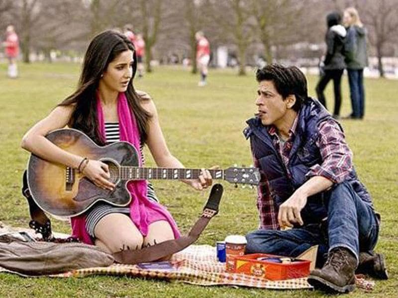 SRK and Katrina would be seen for the first time together on screen in Yash Chopra's directorial venture. The chemistry between the duo is palpable.