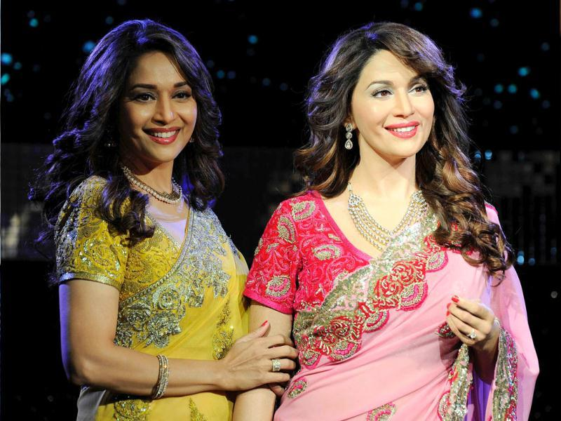 Madhuri Dixit Nene unveiled her wax statue at Madame Tussauds, London on March 7.