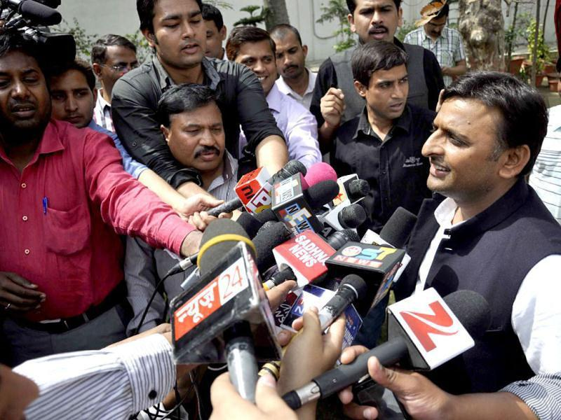 An environmental engineer from Sydney University, Akhilesh Yadav was appointed state president of the SP in 2009. (Agencies photo)
